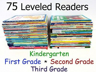 Lot of 75 Children's Books Level 1 2 3 4. I can read+Step into reading++ SeePICS