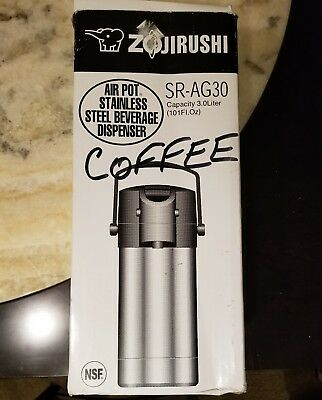 Zojirushi SR-AG30 Air Pot 3 Liter Lever Action Beverage Dispenser