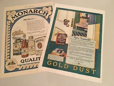 Two Vintage Magazine Adds - Ladies Home Journal & Womens Home Companion 1920's