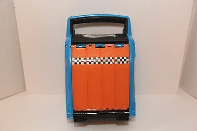 Hot Wheels Way Too Fast Carrying Case - Holds 20 Cars