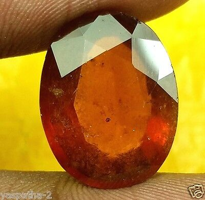 12.35 CT Ceylon Hessonite 100% Natural GIE Certified Rare Quality Marvelous Gem