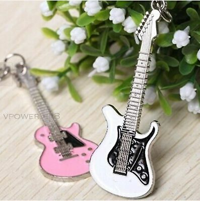 Guitar Keychain Couple Keyring Chinese Music Key Ring Fine Violin Keyfob Pendant