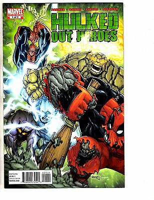Hulked Out Heroes Complete Marvel Comics LTD Series # 1 2 VF/NM 1st Prints RC16