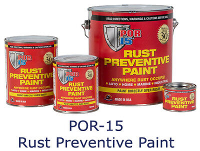 POR15 Rust Prevention Paint
