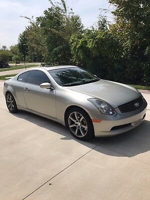 2004 Infiniti G35 Coupe with Leather and 6MT 2004 Infiniti G35 Sport Coupe 6 Speed Manual