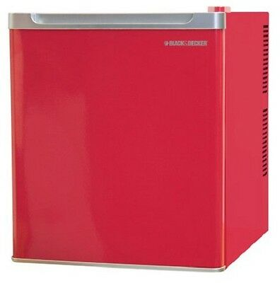 Black and Decker Mini Fridge in Excellent Working Condition! Great Red Color!