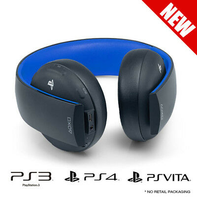 Genuine Sony PlayStation Wireless Stereo Headset for PS4/PS3/PS Vita Brand New