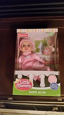 NEW Fisher Price Little Mommy Sweet As Me Doll in Pajamas