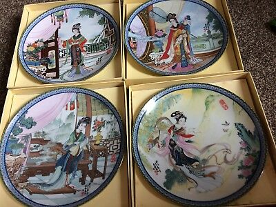 Collector plates 8 Beauties of the red mansion