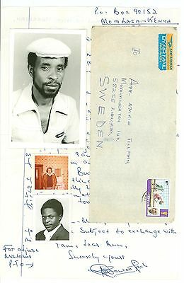 Kenya A32 Cover used Photo 1978