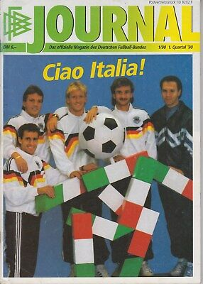 DFB Jornal №1 - Germany edition -  World CUP 90 Italy 1990
