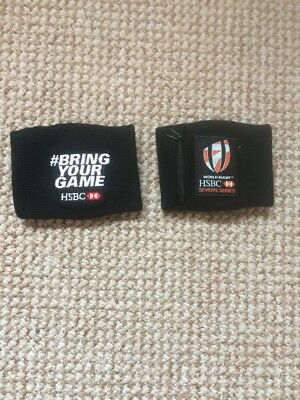 HSBC Rugby 7s Sweatbands New