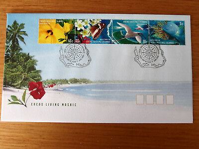 Cocos (Keeling) Islands 1999 - Cocos Living Mosaic  First Day Cover
