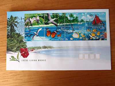 Cocos (Keeling) Islands 1999 - Cocos Living Mosaic  First Day Cover -2