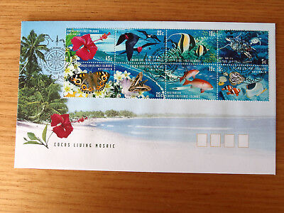 Cocos (Keeling) Islands 1999 - Cocos Living Mosaic  First Day Cover - 3