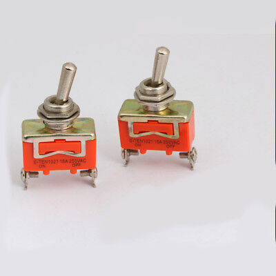 1pcs Switch Toggle 2Pin 15A 250V car boat SPST Master creative design