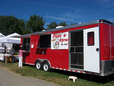 Pizza and Subs Concession Trailer