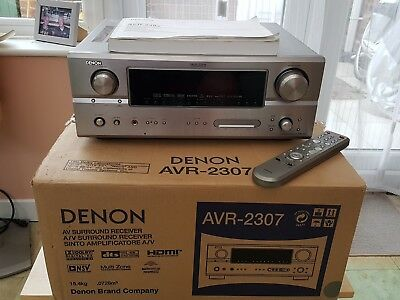 Denon AVR 2037 7.1 Channel A V Receiver