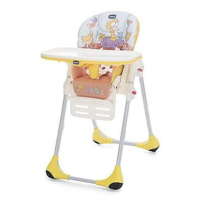 Chicco chaise haute polly Easy avec 2 rouleaux Birdland