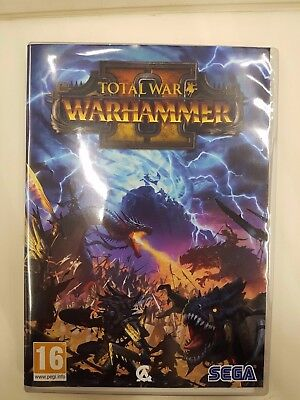 Total War Warhammer II empty pc game box only NO GAME