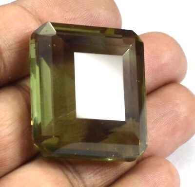 IGL Certified  111.55  Ct Charming Emerald Cut Color Changing Alexandrite Gems