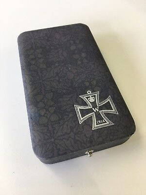 WWI German/Germany Kaiser Presentation case for the Iron Cross 2nd Class
