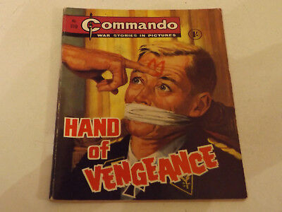 Commando War Comic Number 310!!,1968,v Good For Age,49 Years Old Issue,v Rare.