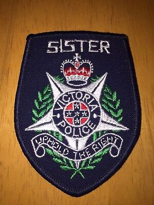 Victoria Police Sister Patch