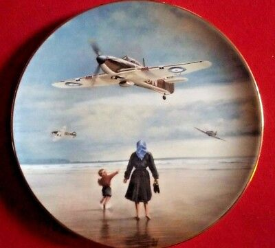 Royal Doulton Collectable Plate Hurricanes Coming Home