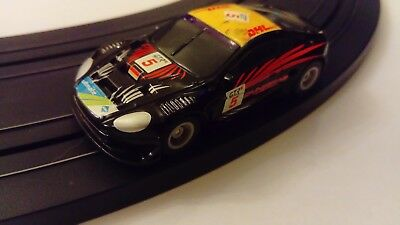 Micro Scalextric Aston Martin Dbr9 Car Tested And Working Black