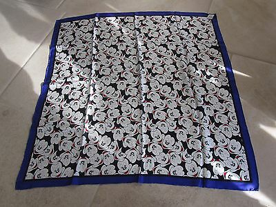 Disney Store Mickey Mouse square silk scarf