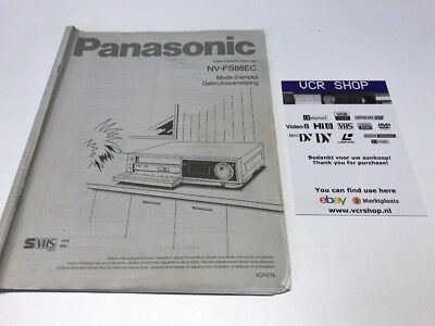 Manual: Panasonic NV-FS88EC - FR, NL