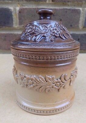 Vintage Stoneware Pot and Cover
