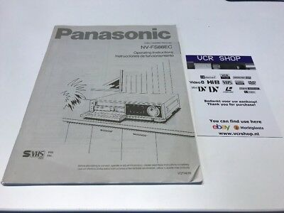 Manual: Panasonic NV-FS88EC - EN, DE