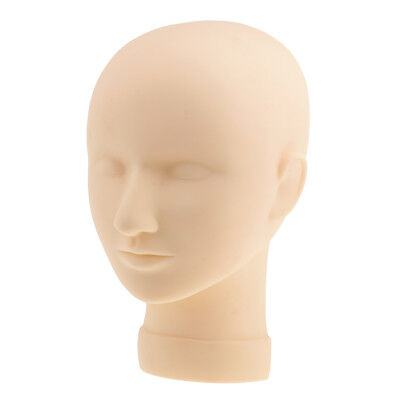 Practice Training Head Manikin Silicone Cosmetology Mannequin Face Head Eye