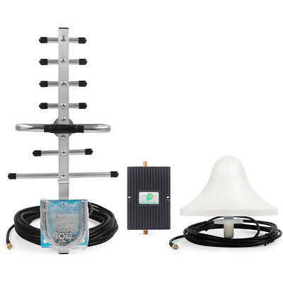 GSM 1800MHz Signal Booster 1800MHz Amplifier 65dB Gain Repeater Yagi Antenna Kit