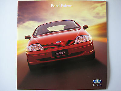 Ford Falcon sales brochure - 1999 - 22 pages