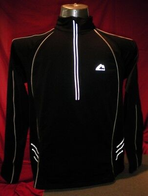 More Miles Black long sleeved top