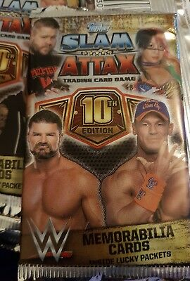 slam attax 10th edition trading cards x36! (Reduced!)