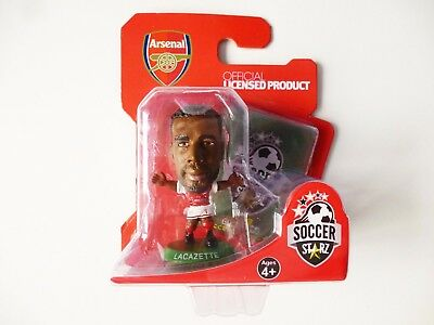 SOCCERSTARZ 2018 EDITION - Lacazette Rare Collectable Arsenal Football Figure