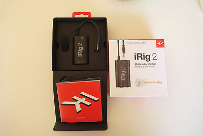 IK Multimedia iRig 2, Mobile Guitar Interface, wie NEU