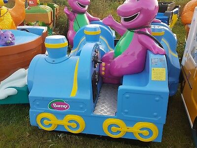 barny kids coin operated electric ride