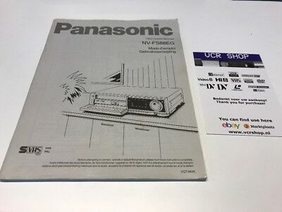 Manual: Panasonic NV-FS88EG - FR, NL