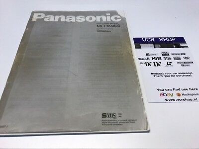 Manual: Panasonic NV-FS90EG EN, FR, NL