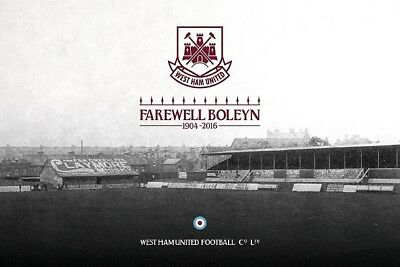 SALE WEST HAM UNITED FAREWELL BOLEYN HIGH QUALITY PROFESSIONAL PHOTOGRAPH 12x8