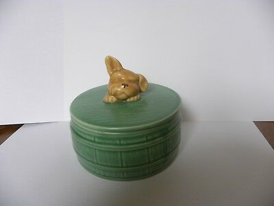 Sylvac Dogs Head Butter Dish 1818