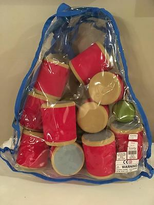 The Land of Nod RED CARNIVAL TOSS GAME, NWT