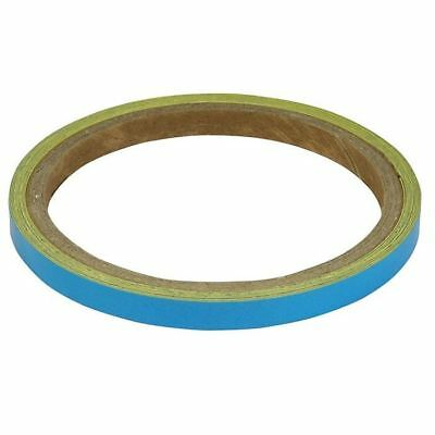 BikeTek Motorcycle Wheel Stripes Light Blue 7mm Tape Motorbike Scooter New