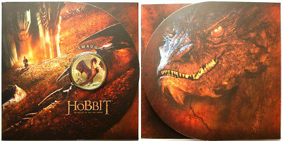 Nz: 2014 The Hobbit, The Battle Of 5 Armies Uncirculated $1  Coin!!