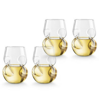 NEW Final Touch Conundrum White Wine Set 4pce